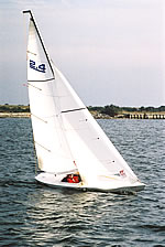The Proton 2.4 metre Sailboat